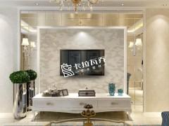 欧雅丝科艺术壁材客厅装修效果图