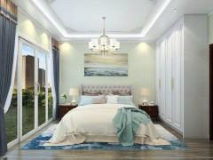 欧雅丝科艺术壁材卧室装修效果图
