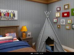 菲玛艺术涂料儿童房装修效果图