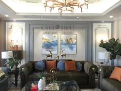 基路伯艺术涂料320㎡绝美轻奢风装修效果图