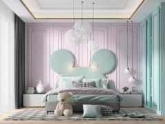 基路伯艺术涂料巴罗洛紫系列产品效果图