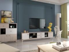 卡百利艺术涂料不同风格客厅装修效果图