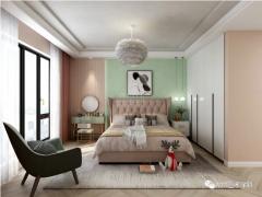"MM艺术涂料卧室图片丨不止奶茶和西瓜,还有清爽一""夏""的家"