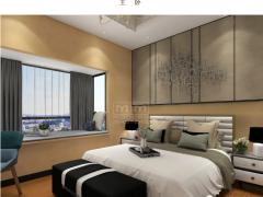 MM艺术涂料现代简约卧室装修图片