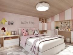 中美尚品艺术漆儿童房装修效果图
