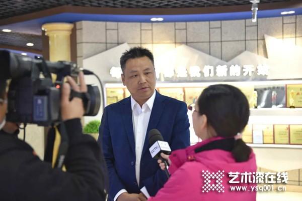 CCTV深度采访久诺外墙涂饰董事长王志鹏,畅谈民族品牌担当与崛起之路!