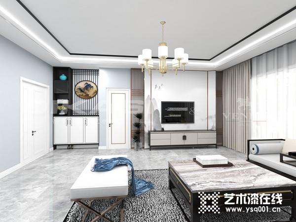 2021深圳家纺展 帝卡斯江庆朝:分单双品牌区域加盟,力推艺术涂料发展