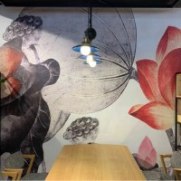 墙绘手绘 手工绘制出的艺术墙面
