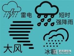 安贝斯:雷雨多发季节,请各位业主做好安全防护!