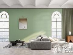 艺术涂料莫兰迪色,灰绿色高雅灵动