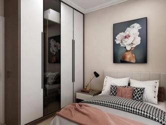美涂士家装 | 艺术纯色铸造唯美卧室