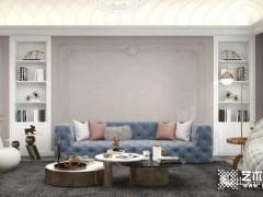 比美特艺术壁材:爱丁堡系列,高级灰的法式轻奢风